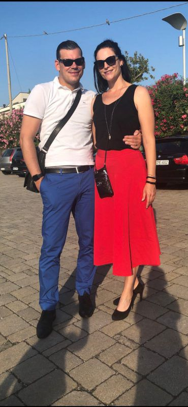 Ehemann Thomas ist stolz auf das Engagement seiner Frau. Kilga
