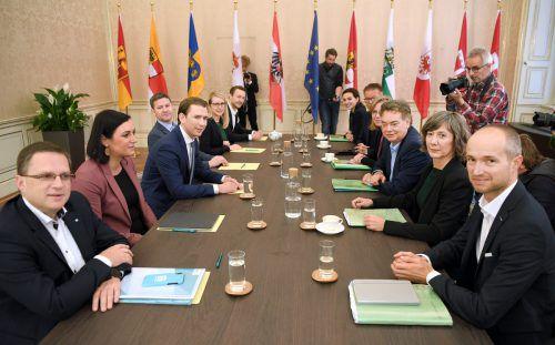 Ein rascher Abschluss der Koalitionsverhandlungen ist nicht zu erwarten. APA