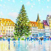 Straßburger Weihnachtsbaum