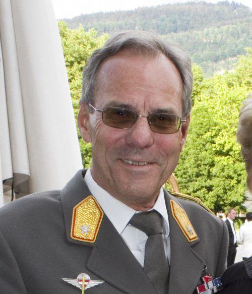 Ernst Konzett übergibt am 30. Jänner 2020 Militärkommando im Land. VN