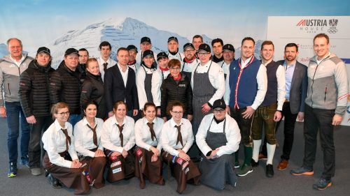 Ernst Seidl wird mit seinem Team das Austria House kulinarisch betreuen. ÖOC