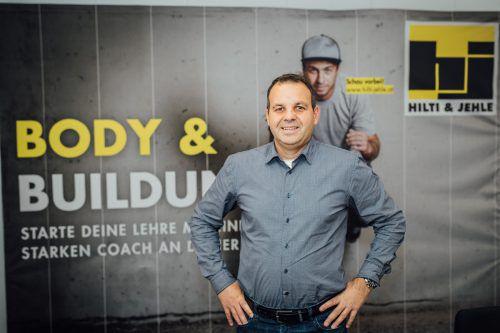 """Erwin Rauch: """"Als Arbeitgeber gilt es für uns Rahmenbedingungen zu schaffen, damit sich die Mitarbeiter wohl fühlen."""" sams"""
