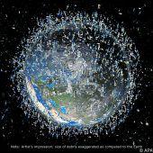 Kampf gegen Weltraumschrott