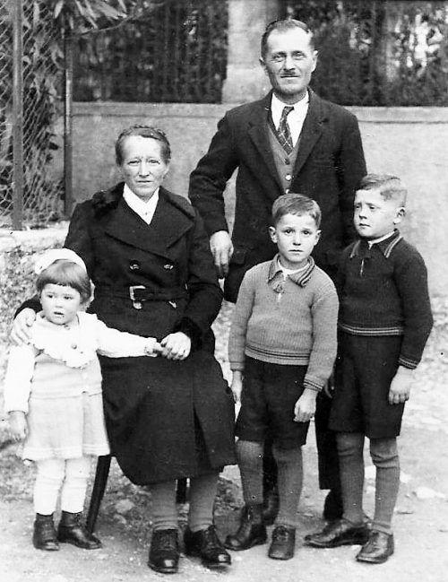 Familie Untermarzoner optierte für das Deutsche Reich. Archiv