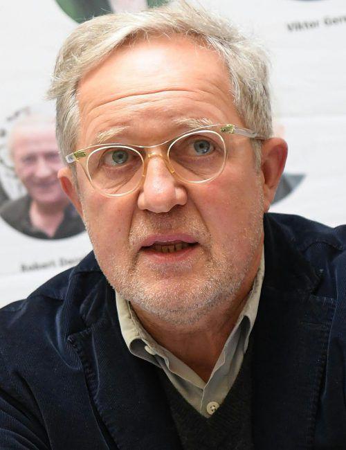 Harald Krassnitzer hat für eine Rolle als Amtsrichter Gesetzbücher gewälzt. APA