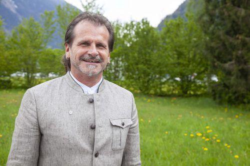 Herbert Bitschnau (59)für die Offene Liste VN Tschagguns.