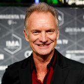 Musiker Sting kondoliert