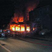 Explosion in Garage