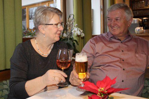 Gerhard und Resi Nußbaumer freuen sich auf die Pension. STRAUSS