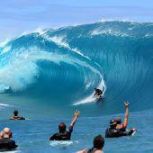 2024 wird auf Tahiti gesurft