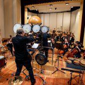 Konservatoriumsorchester begeisterte mit Pauken und sinfonischen Klängen. D6