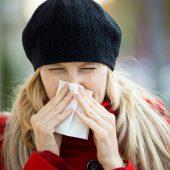 Noch keine Spur von Grippewelle. A5