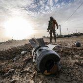 Raketen in Gaza