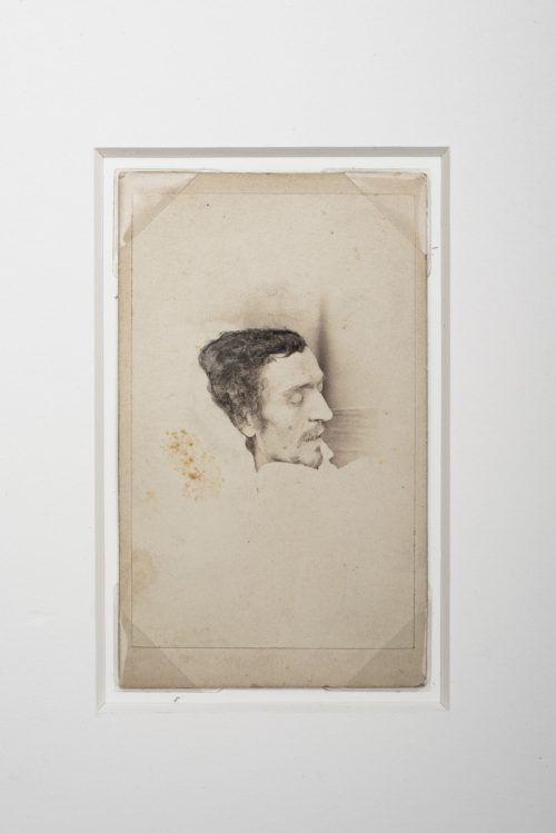 Franz Michael Felder auf dem Totenbett. vlbg. Privatsammlung, Foto: Jana Sabo