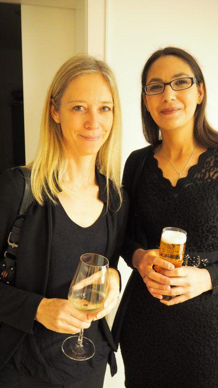 Frauenärztin Karin Engelking und Caroline Bichay-Wachter feierten mit.