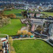 Kloster-Parkplatz bahnt sich an
