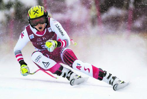Für Nina Ortlieb ist St. Moritz ein guter Boden, 2016 fuhr die Lecherin im Super-G auf den elften Rang. ap