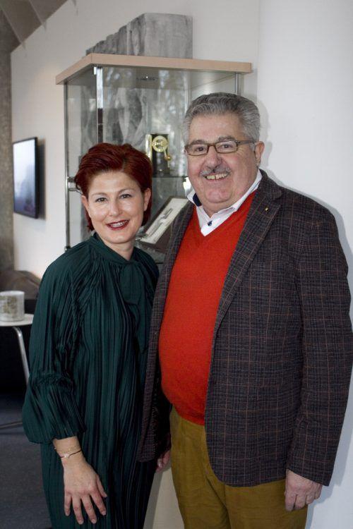 Gastgeber Susanne Schindler-Paterno und Guntram Paterno.