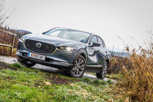 Gefällig schon auf den ersten Blick: Die VN unterziehen den Mazda CX-30 einem Intensivtest.Oliver Wolf