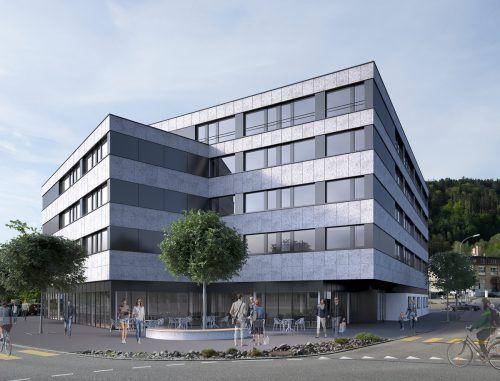 Gegenüber dem Hauptgebäude des Mineralheilbades in St. Margrethen entsteht ein Business-Hotel mit 104 Zimmern. Korner