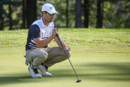 Gut 20 Jahre widmete Manuel Trappel dem Golfsport. Am Höhepunkt der Karriere steht der Gewinn des Europameistertitels 2011. gepa