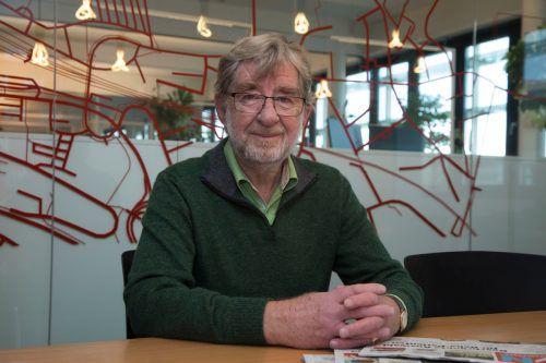 """Hans Helmut Riedl :""""Ich kenne keine Langeweile.""""VN/Paulitsch"""