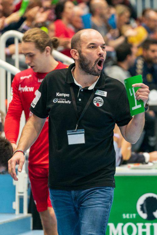 Hard-Coach Klaus Gärntner ist scharf auf Revanche gegen Ferlach.Stiplovsek