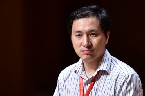 He Jiankui wollte durch Genveränderung HIV-Immunität erreichen. AFP