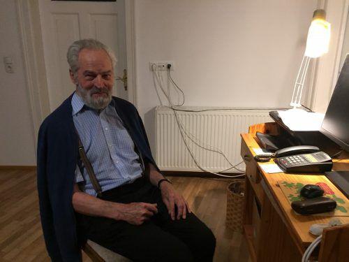 Helmut Rohner (rechts als Priesteranwärter in Rom) feiert das 60-jährige Priesterjubiläum. In Brasilien arbeitete er mit dem einfachen Volk.