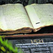 Schriftstück ausdem Jahr 1521