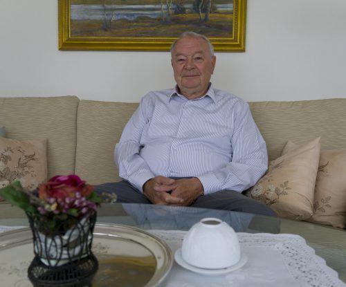 Horst Zimmermann war zehn Jahre bei Liebherr Nenzing.  VN/Paulitsch