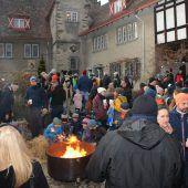 Schloss Wolfurt wird weihnachtlich