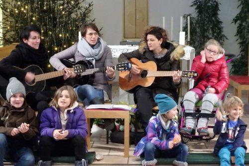 Im Franziskanerkloster wird am 28. Dezember musiziert. Franziskaner