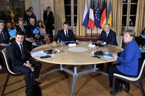 Im Ringen um einen Frieden in der Ostukraine gibt es offenbar Zeichen für ernsthafte Fortschritte. reuters