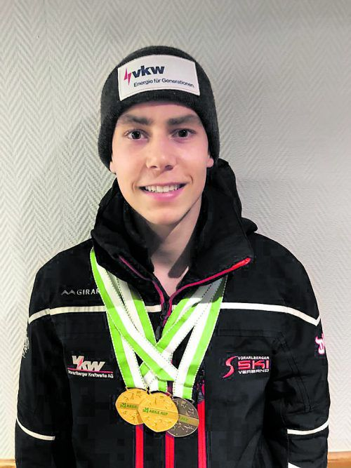 Im Slalom und in der Kombination auf Platz eins: Marco Feurstein.vsv/MS