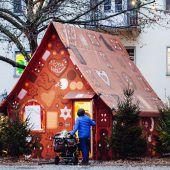 Willkommen in der Weihnachtsbäckerei . . .