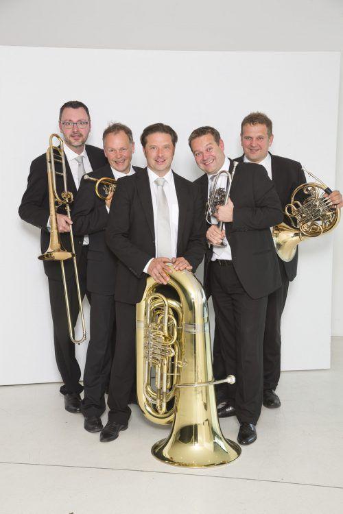In neuer Formation lädt Sonus Brass zu traditionellen Weihnachtskonzerten ein. sonus brass/D. Mathis