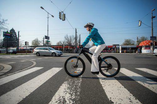 Auch Fahrradfahrer müssen sich bis auf Weiteres einschränken.
