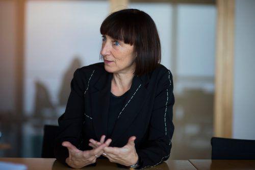 """Intendantin Elisabeth Sobotka bietet im Sommer 2020 neben """"Rigoletto"""" auf dem See und """"Nero"""" im Haus ein enorm umfangreiches Programm an. VN/Paulitsch"""