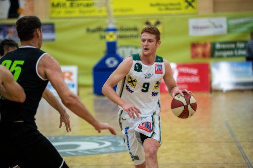 Javier Medori holte 31 Punkte und verbuchte 13 Rebounds in Klagenfurt. VN/Sams