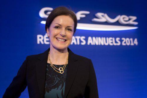 Judith Hartmann ist CFO des Energieversorgers Engie. reuters
