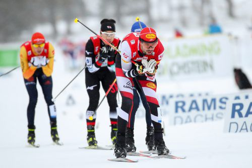 Kämpfte sich auf den fünften Rang: der Tiroler Lukas Greiderer.gepa