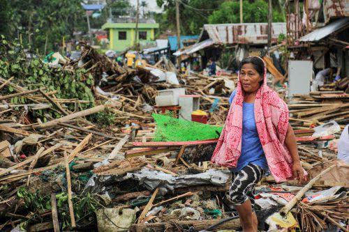 """""""Kammuri"""" ist bereits der 20. Taifun in diesem Jahr auf den Philippinen. AFP"""
