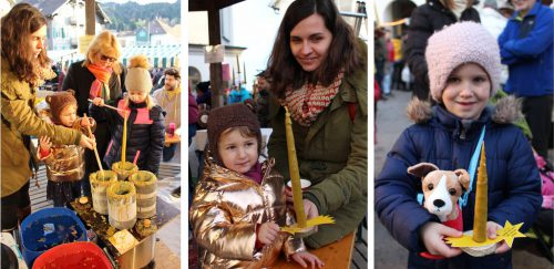 Kerzenziehen machte den Alberschwender Christkindlemarkt für viele Kids zu einem echten Pflichttermin.