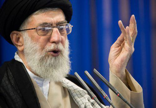 Khamenei soll über die Proteste sehr verärgert gewesen sein.RTS