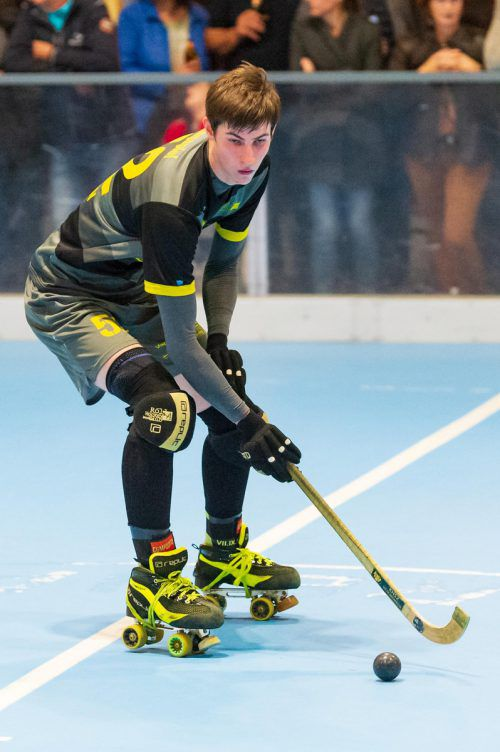 Kilian Hagspiel feierte sein Comeback nach der Verletzungspause.VN/Stiplovsek