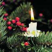 Brandschutz in der Weihnachtszeit