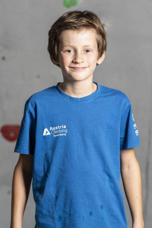 Matthäus Kathan wurde wie 2018 Gesamtsieger im Rheintal-Cup der U12-Klasse, Aaron Schönacher (l.) wurde Dritter.KVV