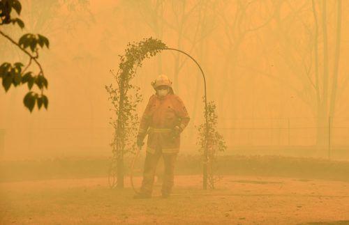 Mehr als 2000 Feuerwehrleute kämpfen gegen rund 100 Brände. AFP