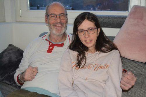 Melanie Corn und Wolfgang Neuwirth sind ein glückliches Paar und haben klare Vorstellungen von ihrer Beziehung. Caritas
